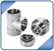 Stainless Steel ASME B16.11 Socket Weld Lateral Outlet