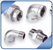 Stainless Steel ASME B16.11 Threaded Union (Male / Female)