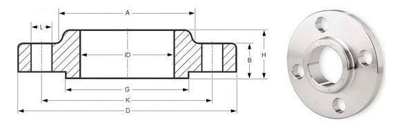 Slip on Flange Manufacturers, ASME b16 5 slip on flange