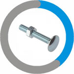 Inconel 600 Carriage Bolts
