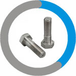Inconel 600 Heavy Hex Cap Screws & Heavy Hex Bolts