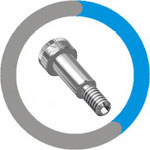 Inconel 600 Shoulder Bolt
